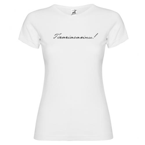 T-Shirt manica corta Donna Tirari' A Casinu Bikerella