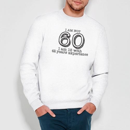 Felpa Unisex Compleanno 60 Anni Birthday Regalo Bikerella