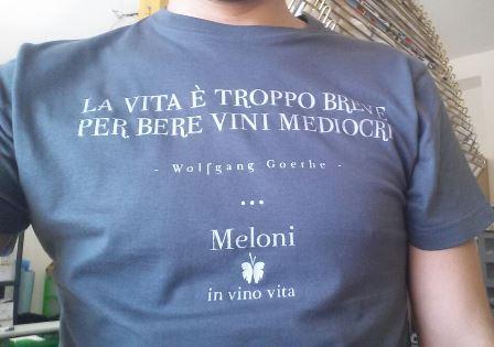 Maglietta serigrafata